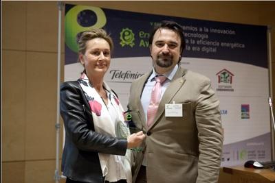 Roc?o Fern?ndez Artime recibe el Premio EnerTIC 2017 al Mejor Directivo